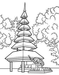 236x300 Shutterstock 213003631. Japanese Garden Bridge Drawing Japanese