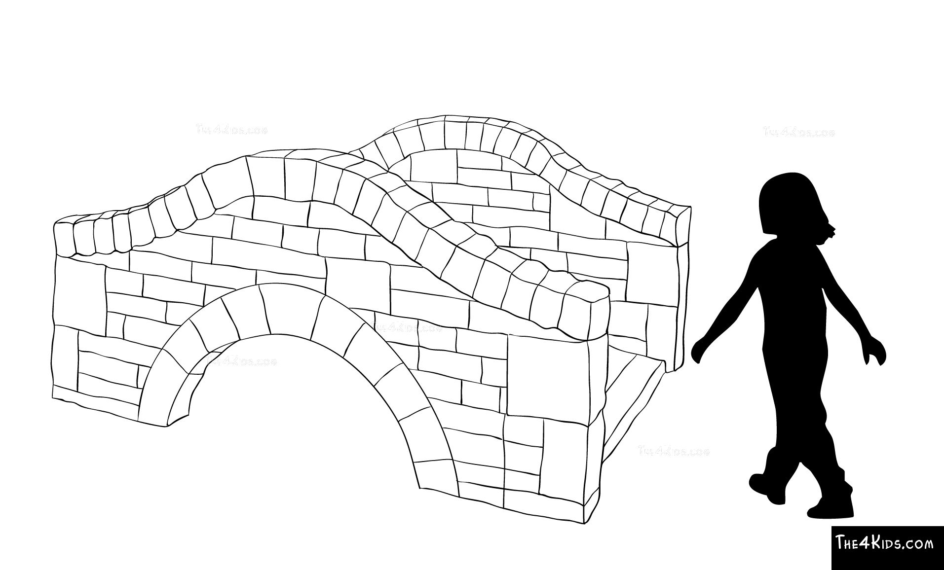 1913x1156 Stone Garden Bridge