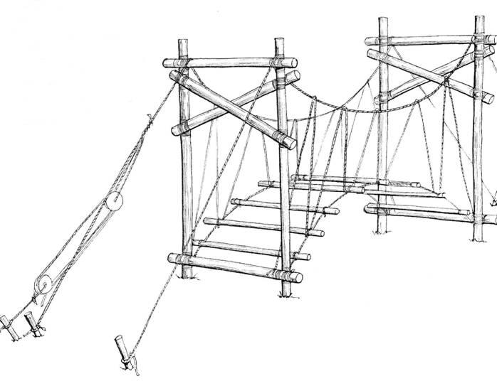 698x536 Suspension Bridge Parts