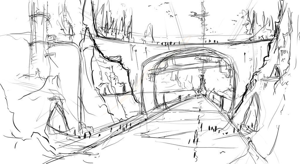 1024x559 Bridge Sketch By Jakejk