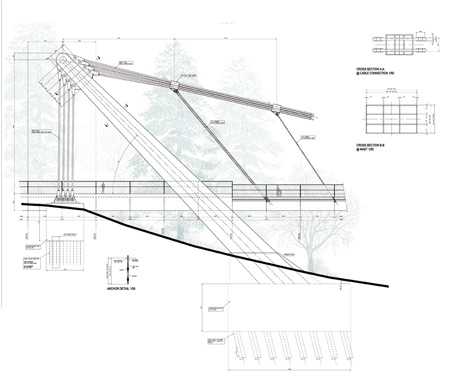 450x388 Metro West Bridge By Explorations Architecture And Buro Happold