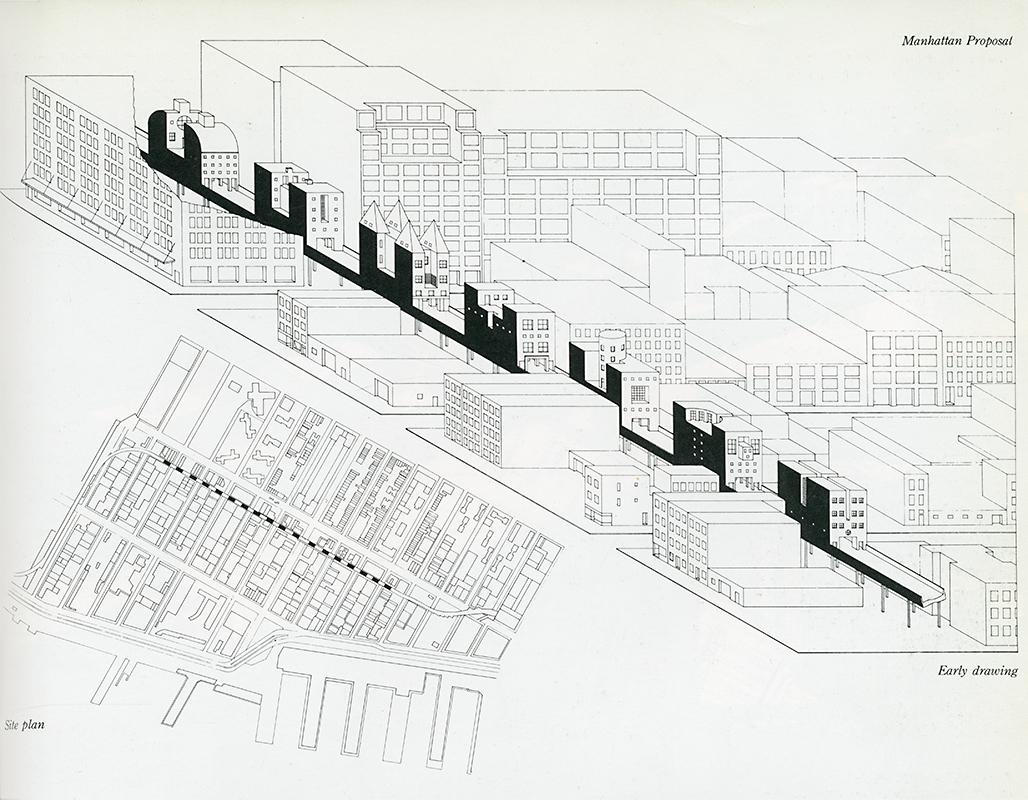 1028x800 Steven Holl's Bridge Of Houses (1979 1982) Socks