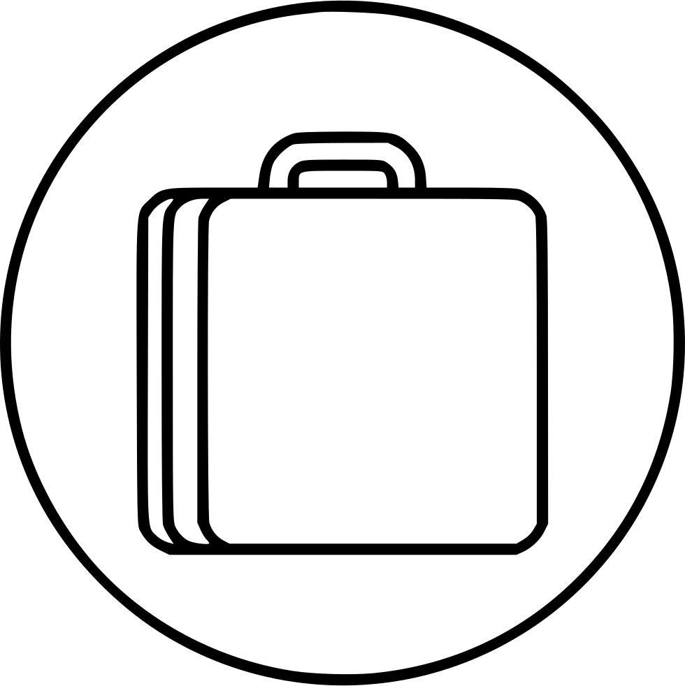 980x982 Bag Trip Luggage Briefcase Svg Png Icon Free Download ( 464894