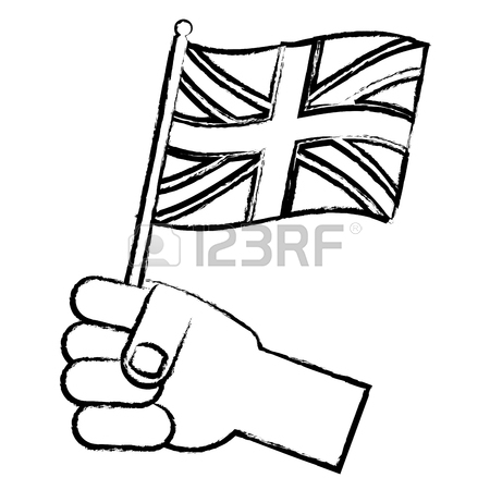 British Flag Drawing
