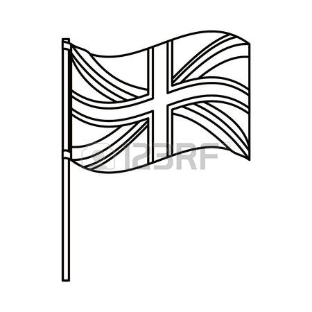 450x450 United Kingdom Flag Icon. London Uk Landmark Tourism And England