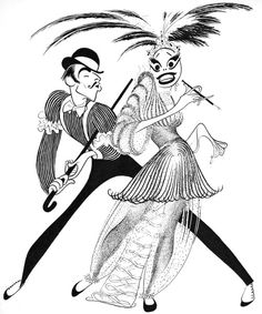 236x283 18 Of Al Hirschfeld's Greatest Drawings Draw, Caricatures