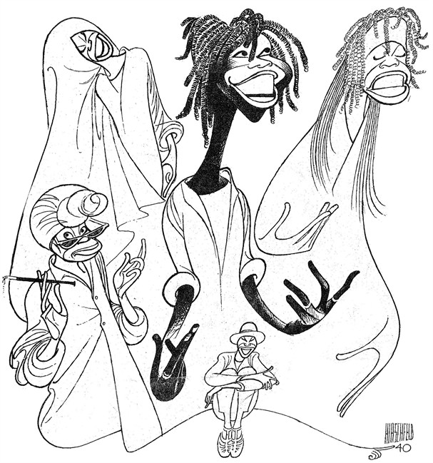 607x649 The Line King' Exhibition Of Al Hirschfeld Drawings Opens In Nyc