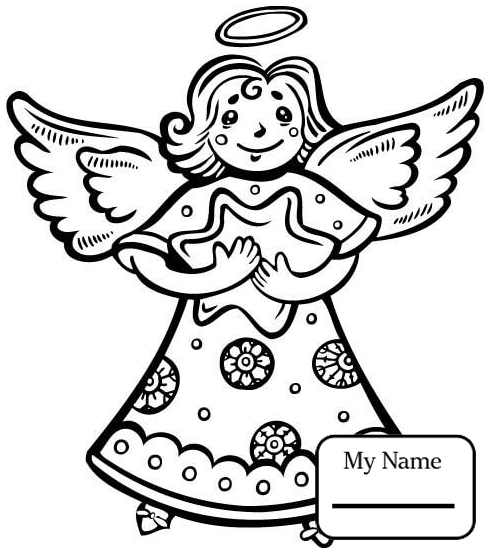 489x553 Angel And Devil Angels Fantasy Mythology Angels Coloring Pages