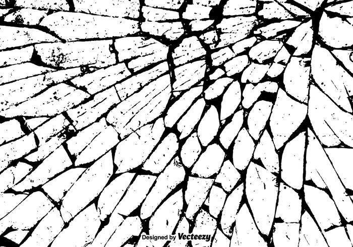 700x490 Cracked Wall Free Vector Art