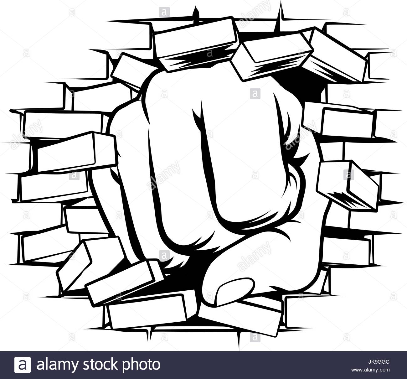 broken brick wall drawing at getdrawings com free for personal use rh getdrawings com Brick Wall Graphic Breaking Brick Wall