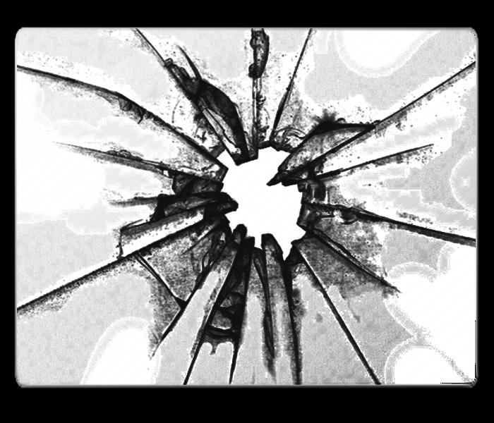 700x600 Broken Glass