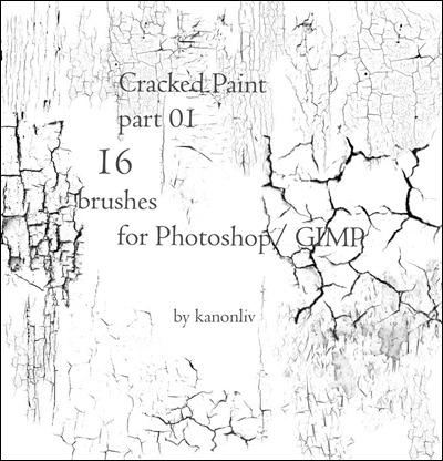 400x416 Photoshop Crack Brushes