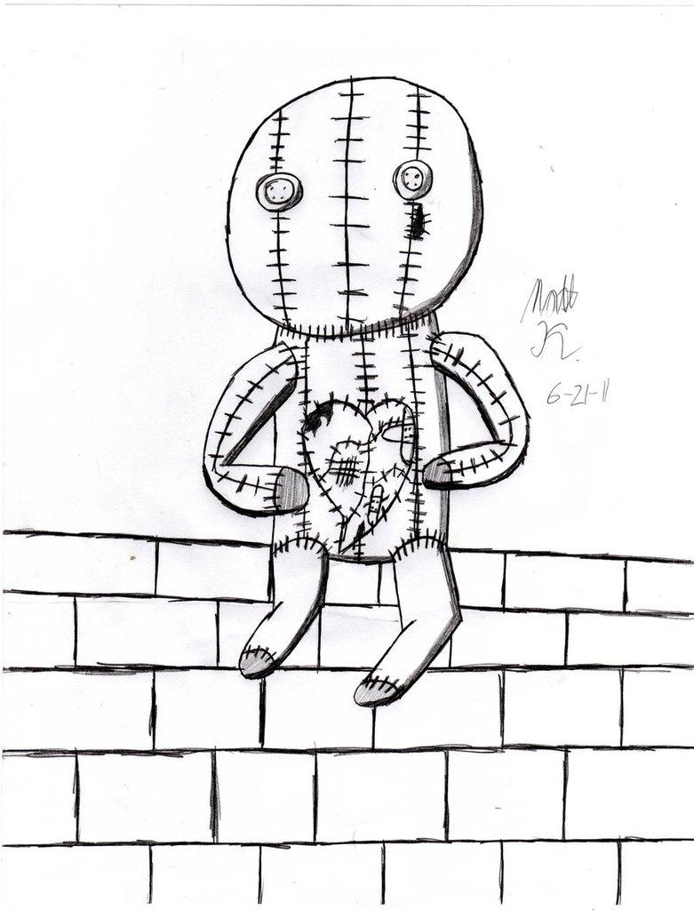 781x1024 Broken Heart A Brick Wall By Notsoaveragematt