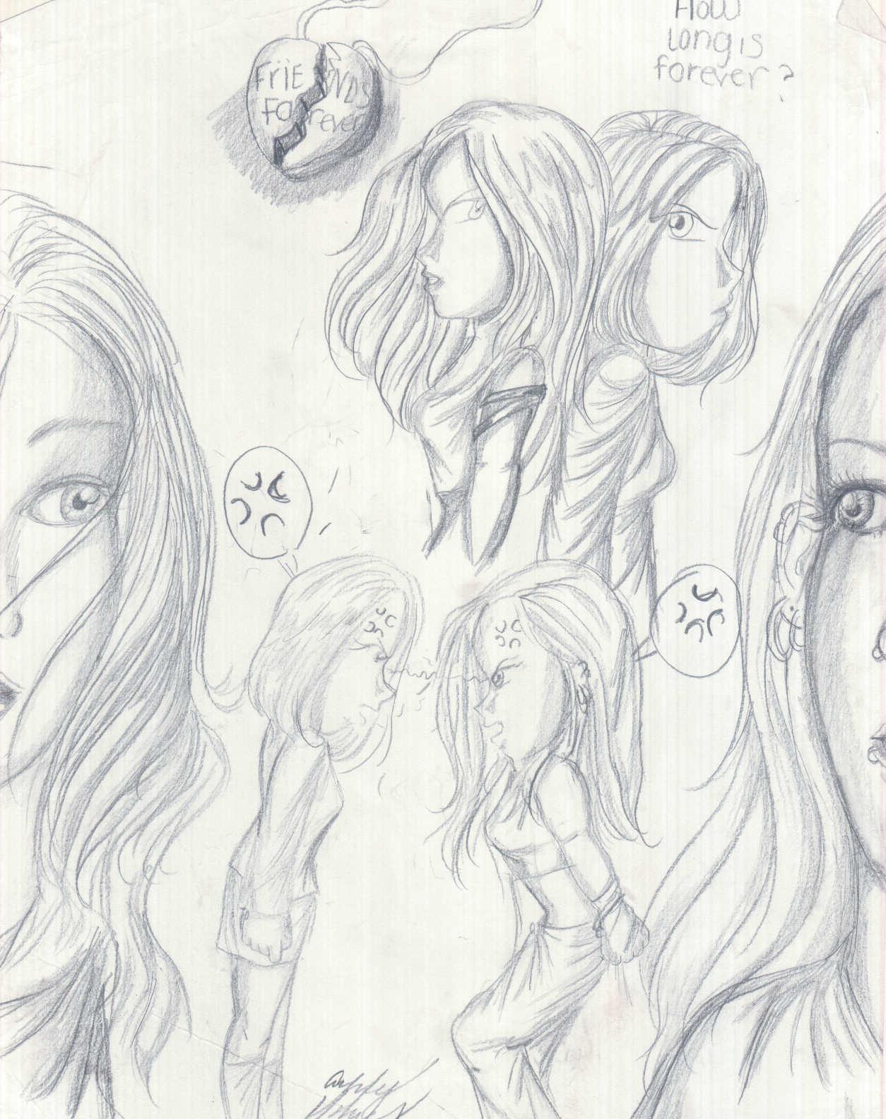 Broken Drawing