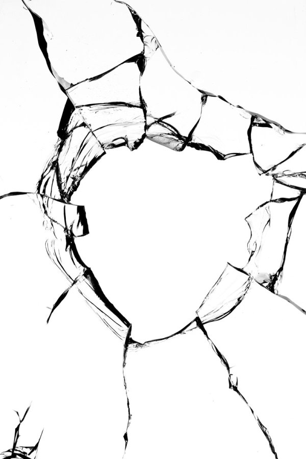 Broken Glass Drawing