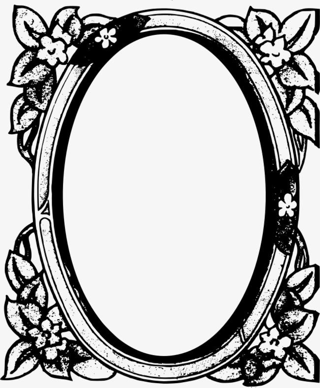 650x789 Cartoon Painted Mirror, Cartoon, Mirror, Hand Painted Png Image