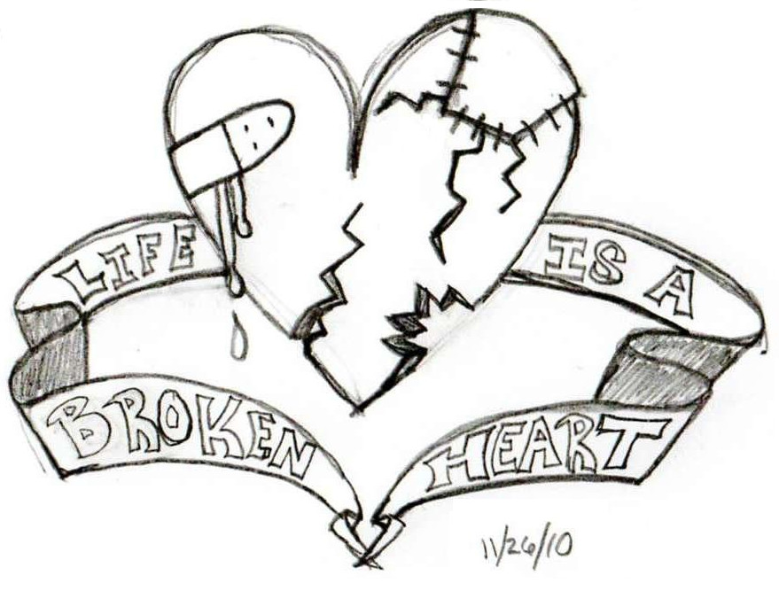 879x667 Life Is A Broken Heart By M The Copyist On DeviantArt