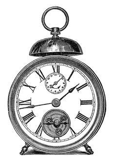 236x336 Drawn Pocket Watch Fancy
