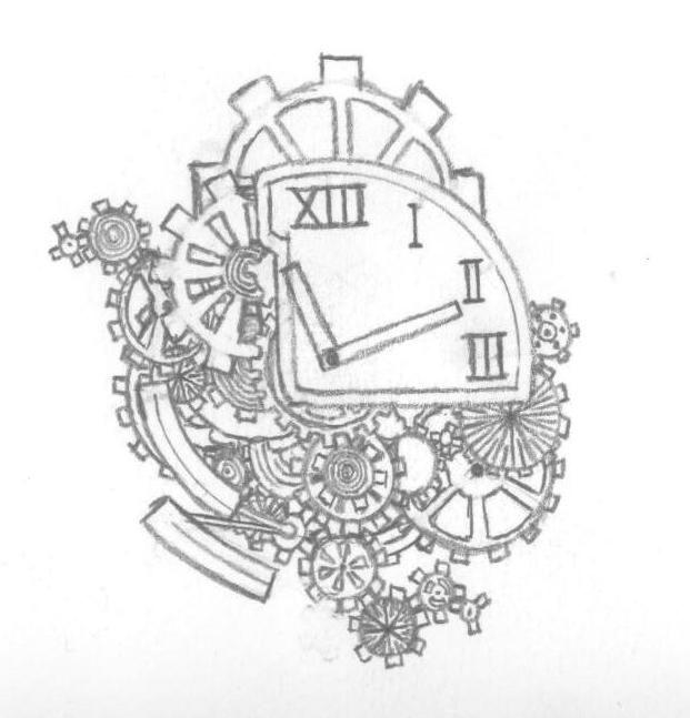 621x647 Gears Art Tattoo