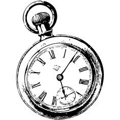 236x236 Pocket Watch Drawing Clipart Best It's My Party