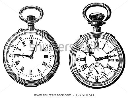 450x344 Pocket Watch Clipart Old Fashioned