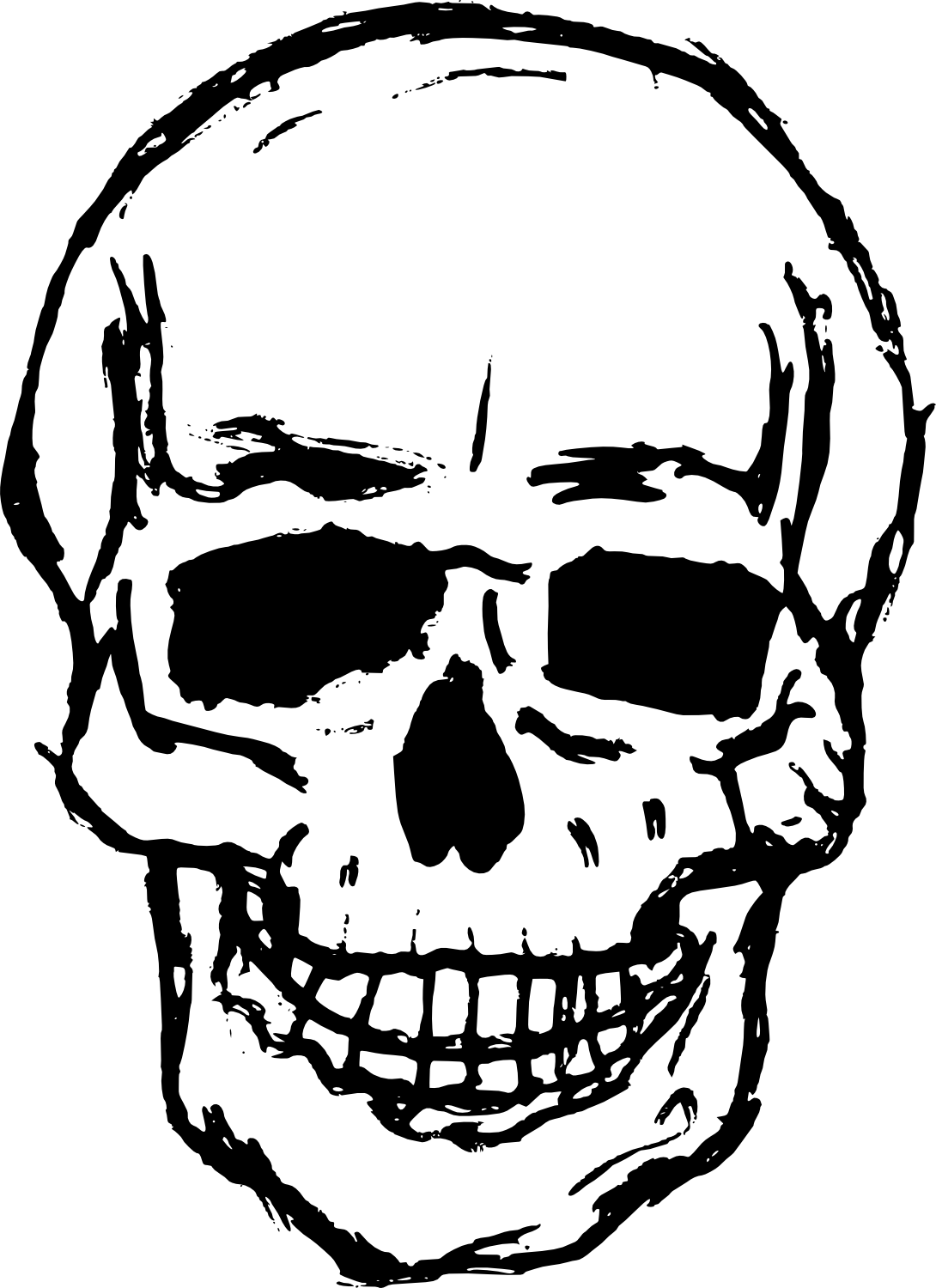 1090x1500 8 Skull Drawing Vector (Svg, Png Transparent)