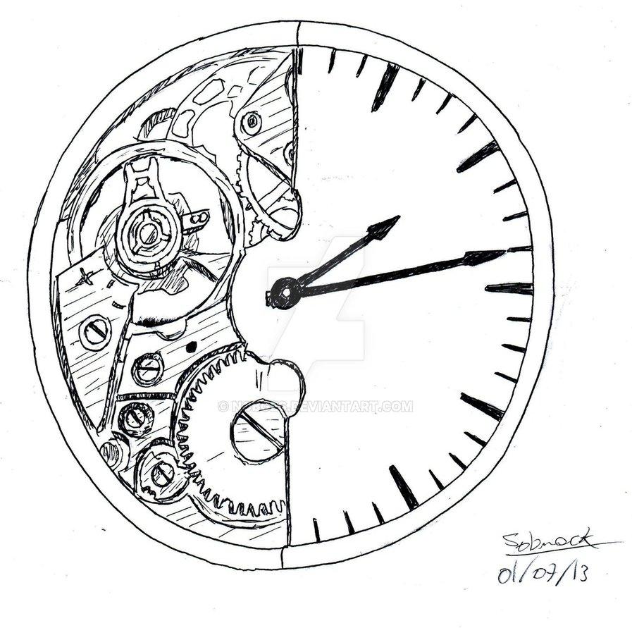 897x891 Broken Clock By Nobges