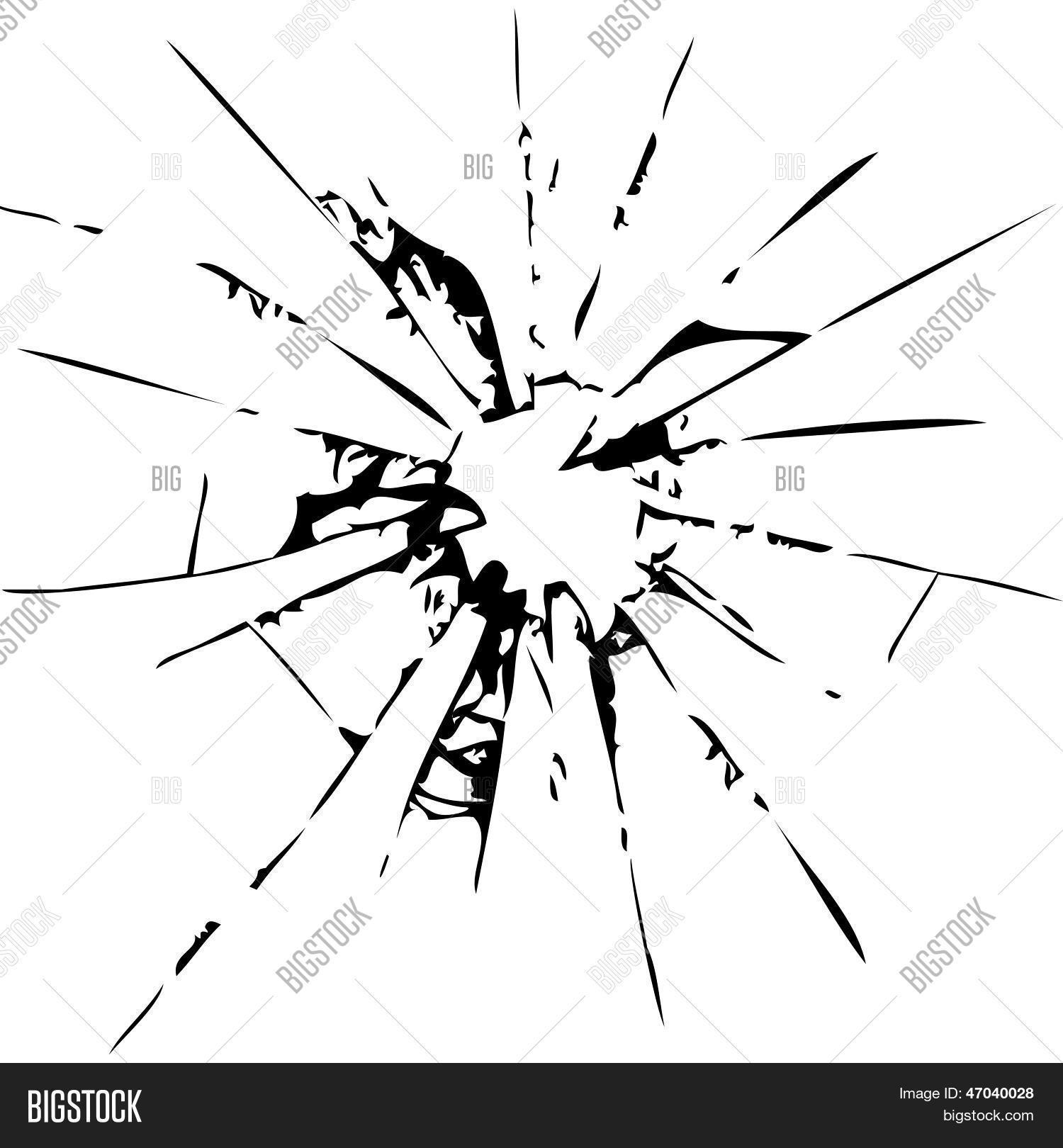 1500x1620 Abstract Broken Glass Vector Amp Photo Bigstock