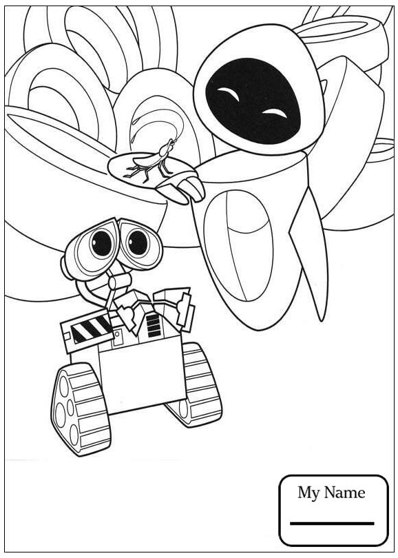 578x810 Wall E Cartoons Broken Wall E Coloring Pages Azcoloring.club