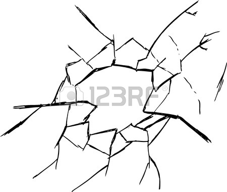 450x380 Broken Glass Black Background For Web And Mobile Devices Royalty