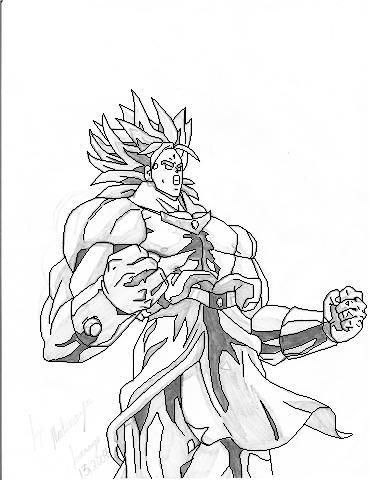 370x480 Dbz Broly Drawings Dbz Drawings Vegeta