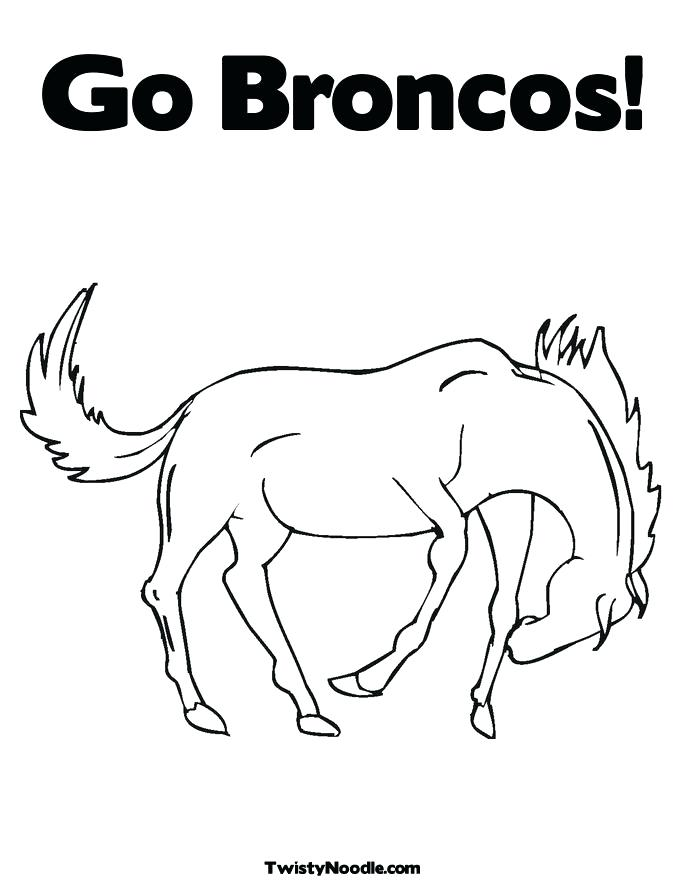 Broncos Logo Drawing at GetDrawings.com | Free for personal use ...