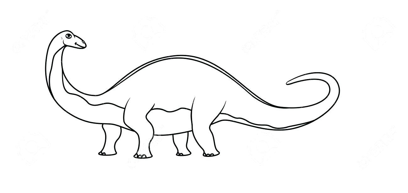 Brontosaurus Drawing at GetDrawings.com | Free for personal use ...