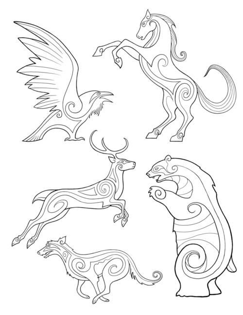 Bronze Drawing