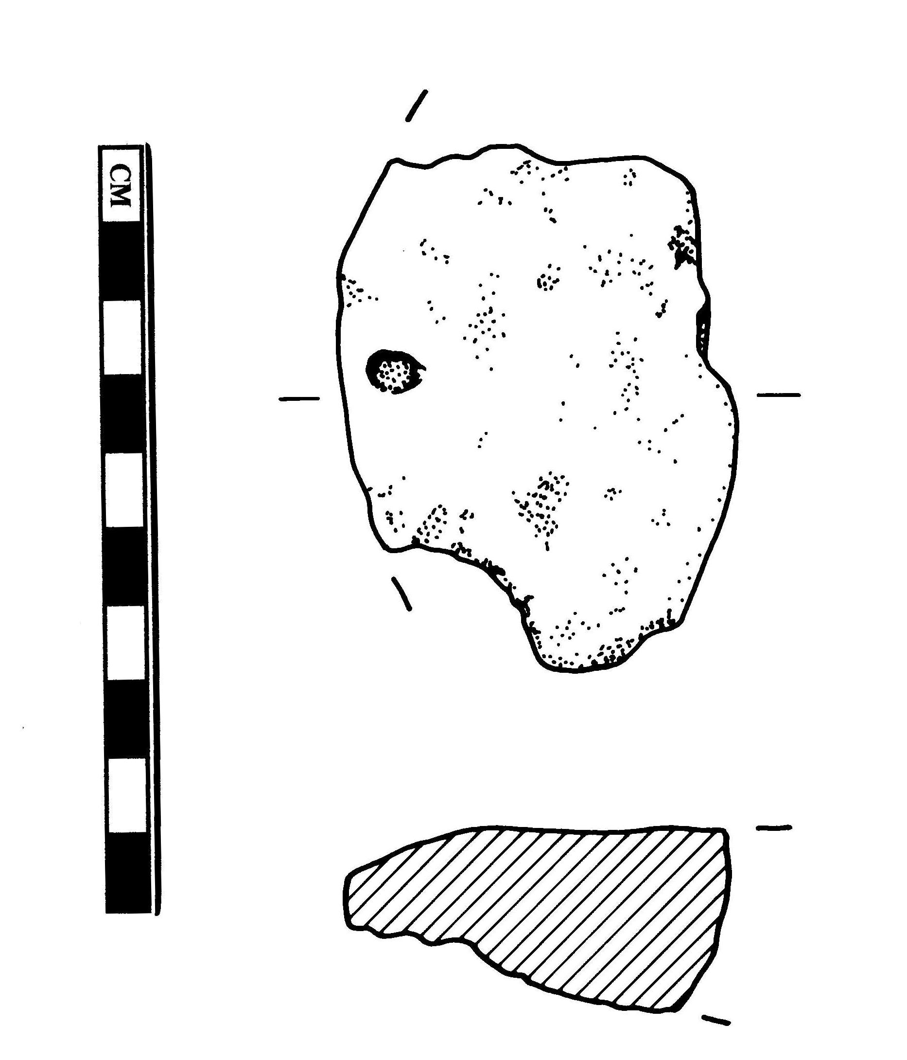 1866x2179 Fileess 009610 Bronze Age Hoard, Ingot (2) Drawing By Sue Holden