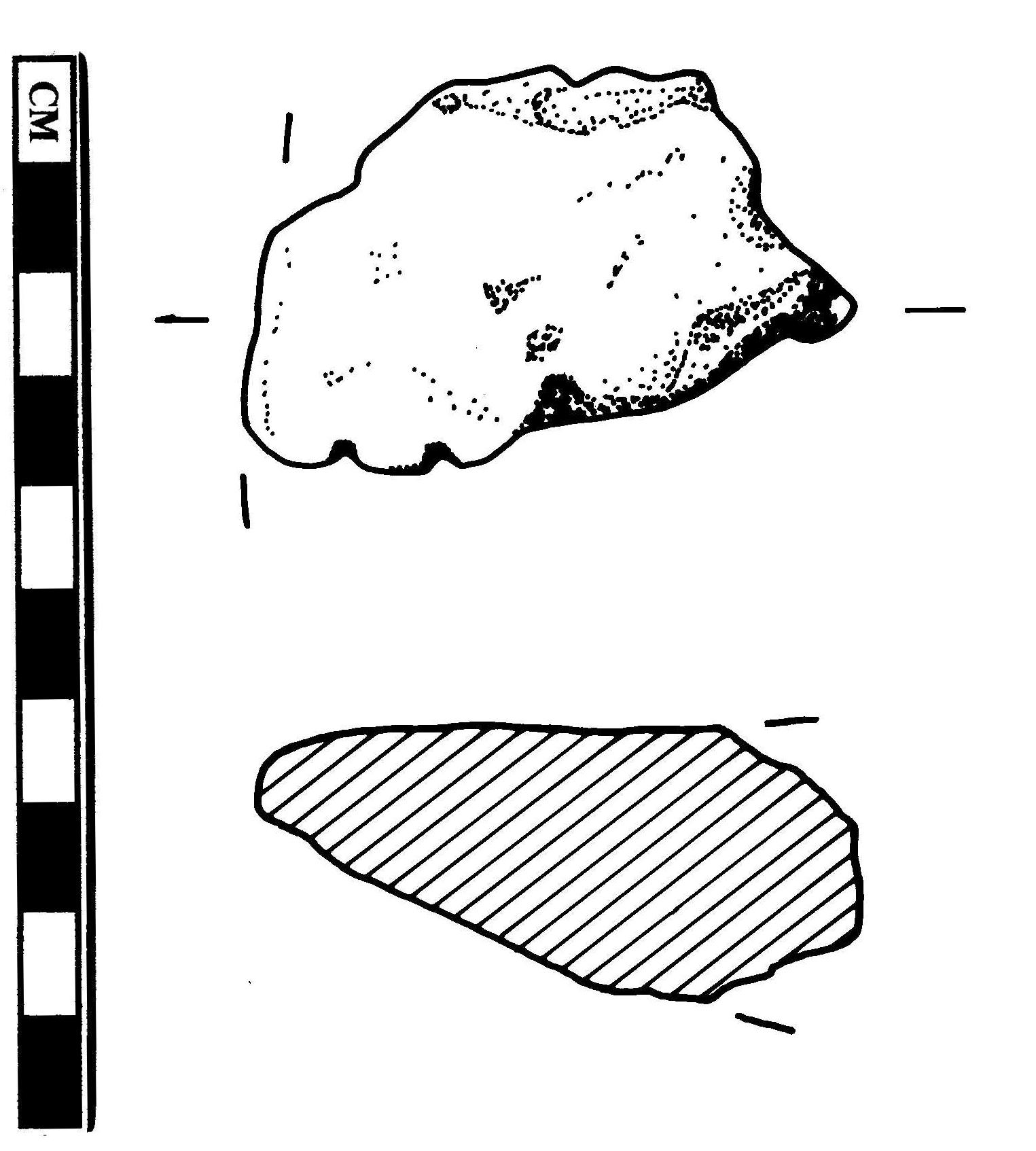 1525x1694 Fileess 009610 Bronze Age Hoard, Ingot (9) Drawing By Sue Holden
