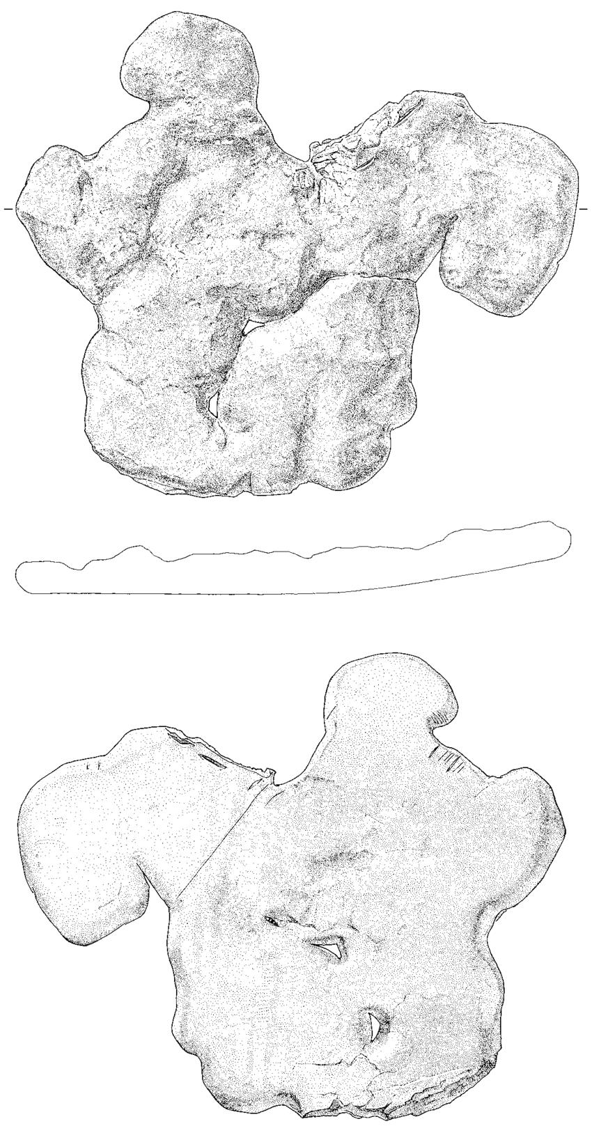 850x1617 Late Bronze Age Tin Ingot From Sursee Gammainseli (Kt. Luzern).