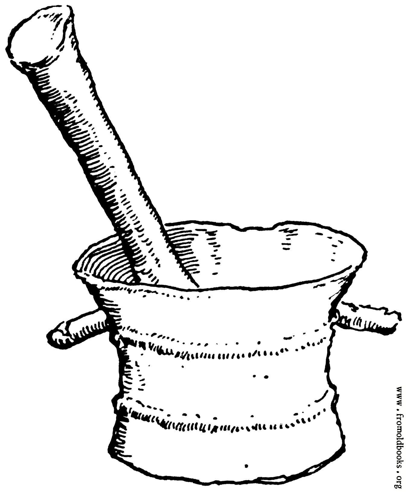 1345x1630 Pestle And Mortar In Bronze