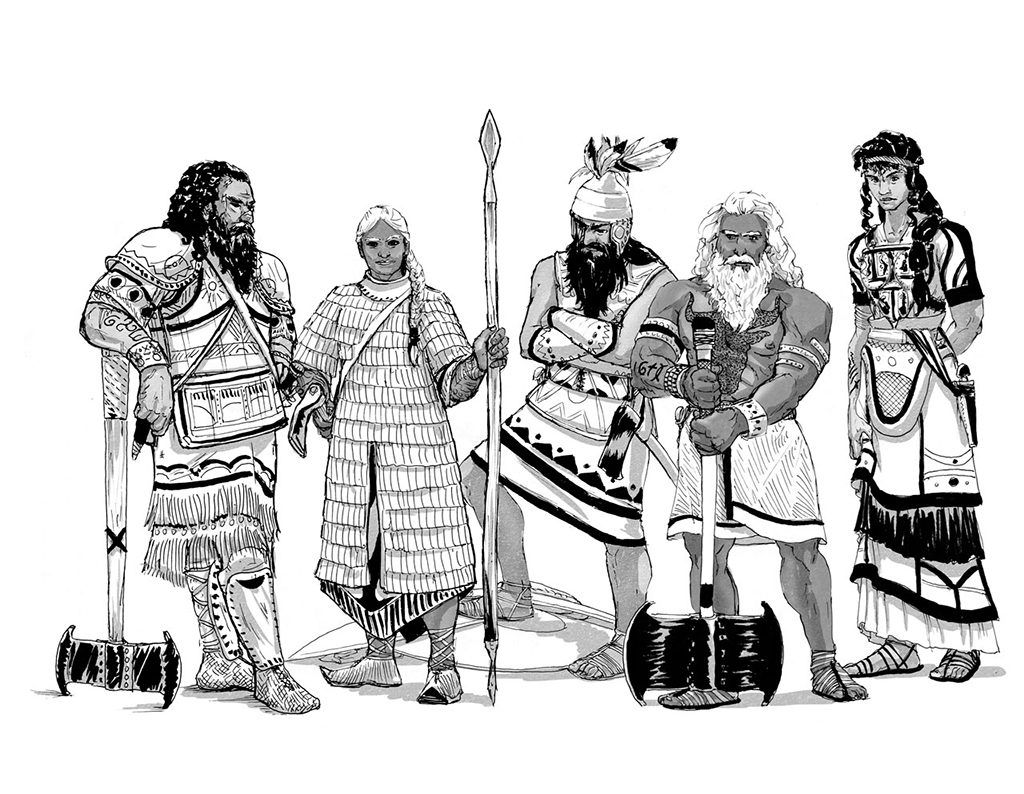 1024x794 Bronze Age Npcs From The Gloranthan Adventure The Coming Storm