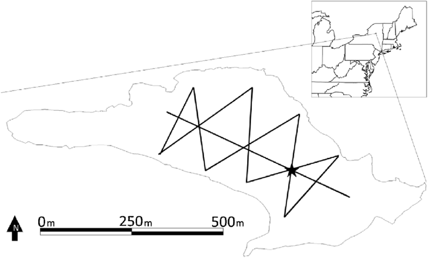 850x513 Location And Outline Of Brooktrout Lake In The Southwest