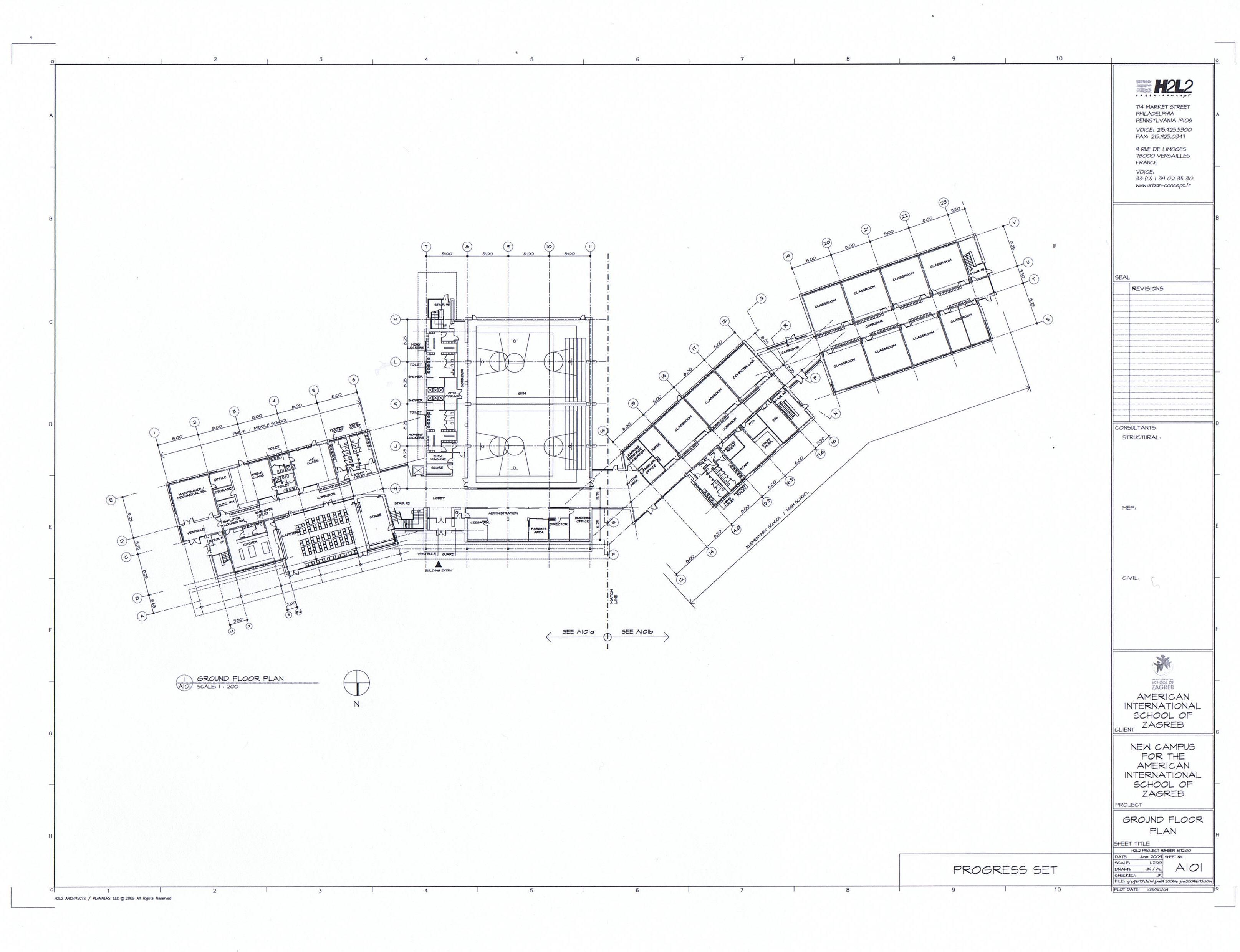3229x2479 H2l2 (Design Dev.) Zagreb, Croatia, New Campus For American