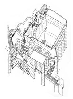 236x320 Rihard Meier Section Drawing Visual Ref.