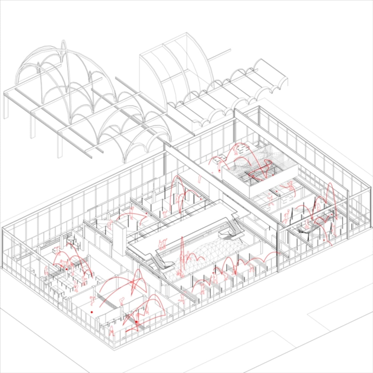 1280x1280 Violence Of Volleyball Bernard Tschumi And Architecture