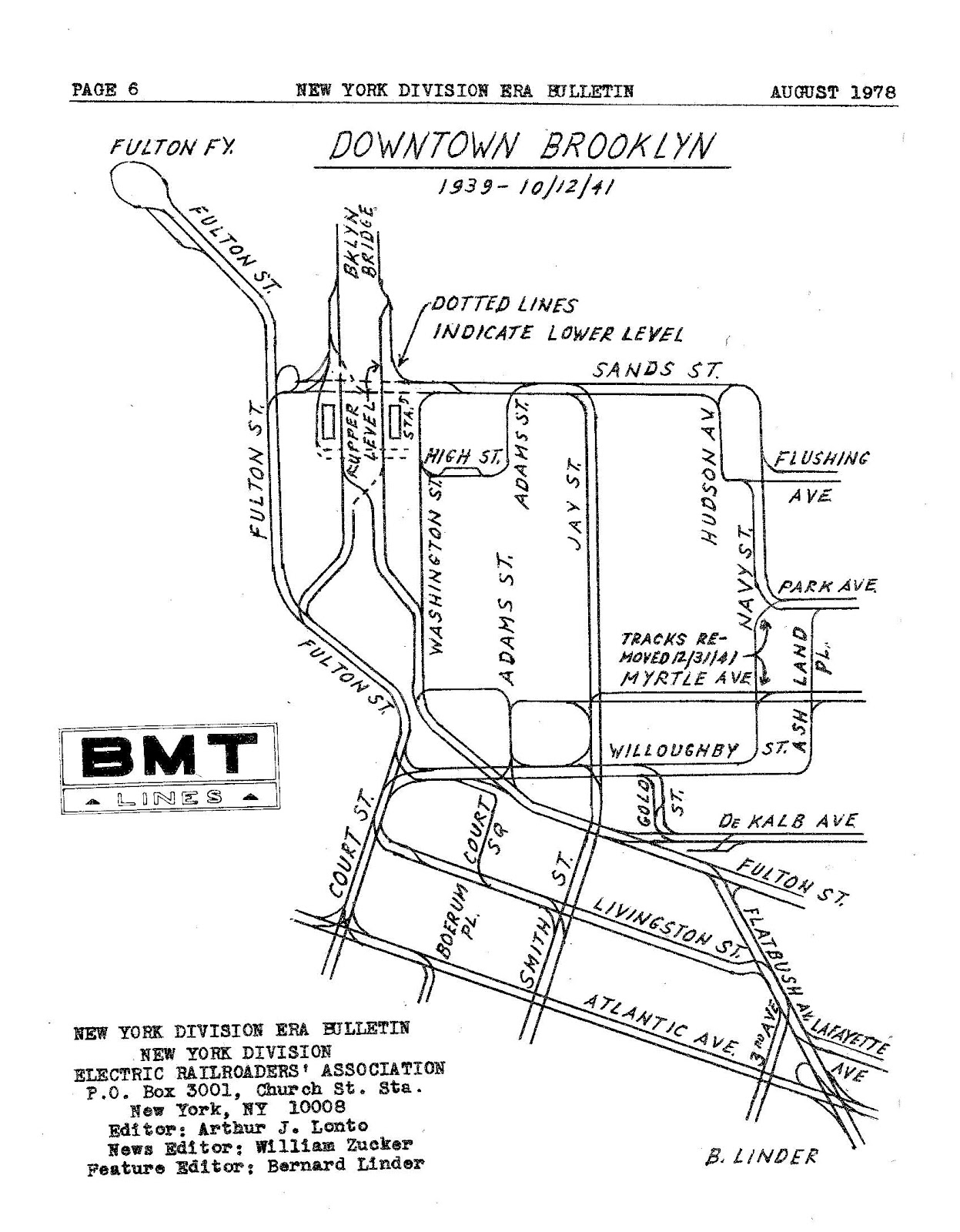 1247x1600 Streetcars And Spatial Analysis Downtown Brooklyn Trolley Map