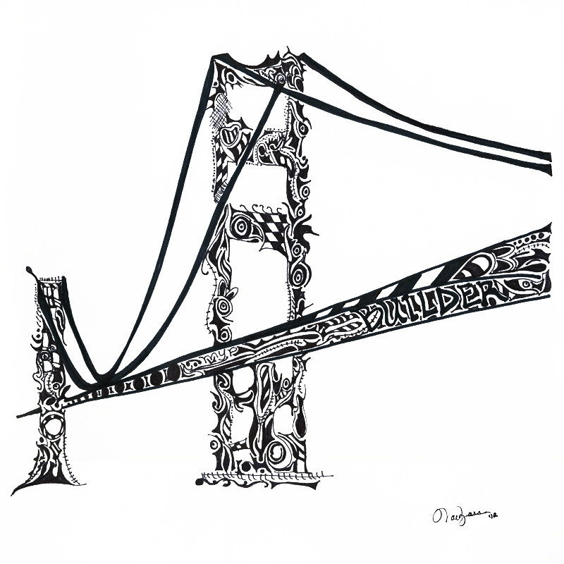 800x800 The Bridge Builder The Art Of Idealism