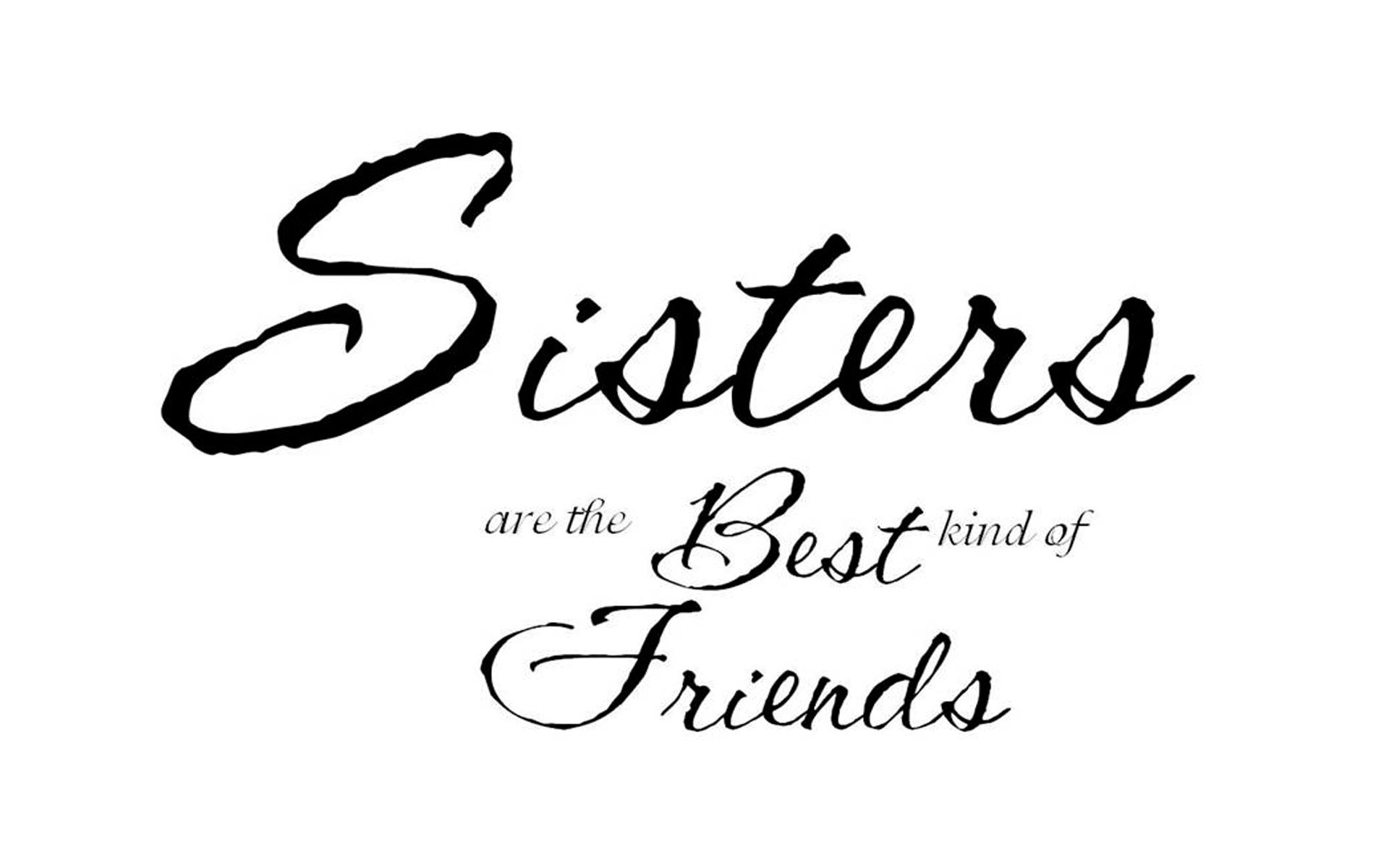 1920x1200 An Open Letter To My Little Sister, The Middle Sister.