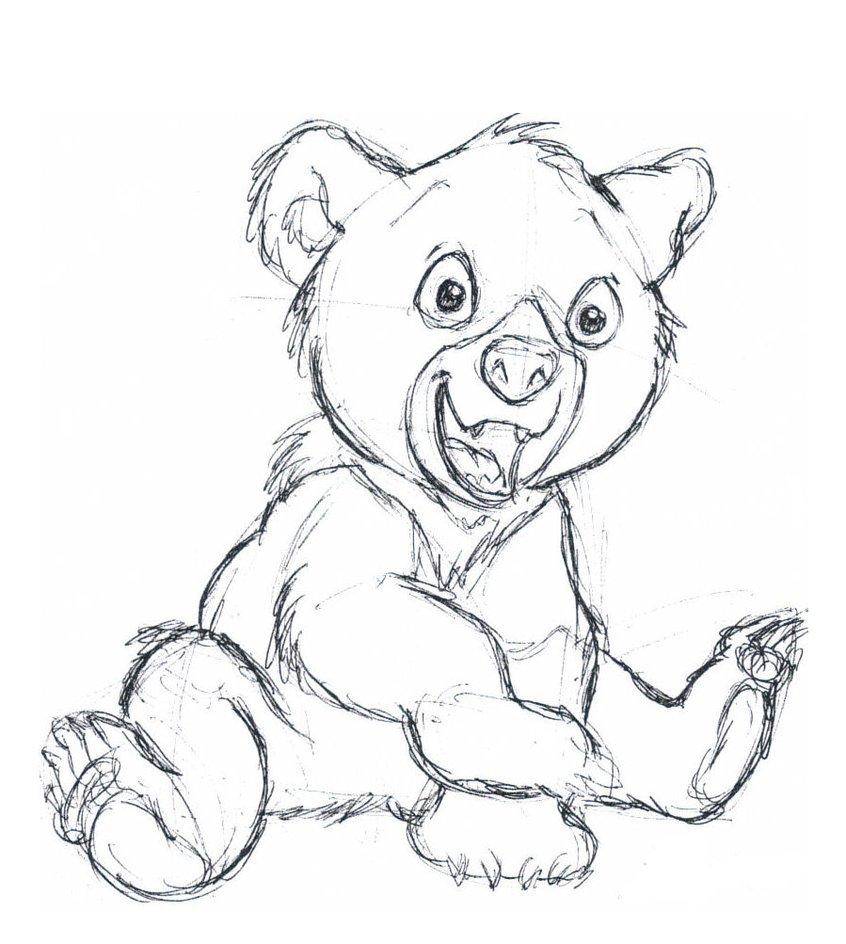 Enchanting Brother Bear Koda Coloring Pages Vignette - Framing ...