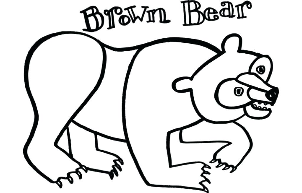 Brown Bear Drawing at GetDrawings.com | Free for personal use Brown ...