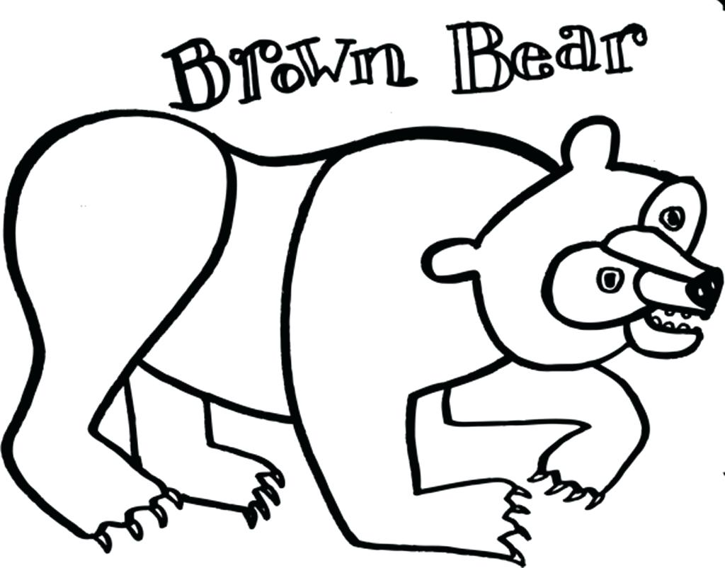 brown bear drawing at getdrawings com free for personal use brown