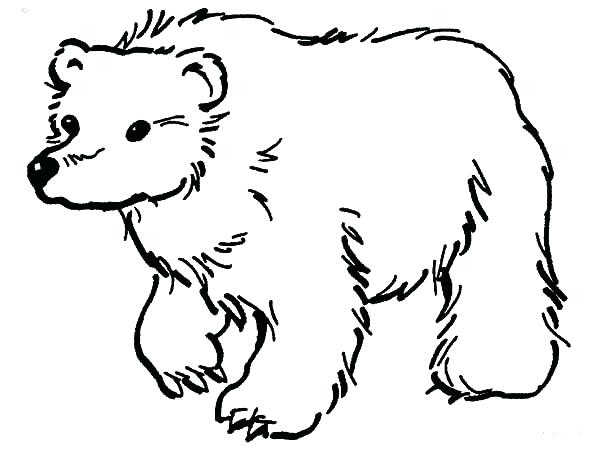600x450 Little Brown Bear Coloring Pages Book Printable Sheet Best